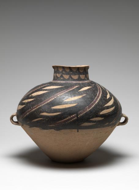 Chinese, Funerary storage jar