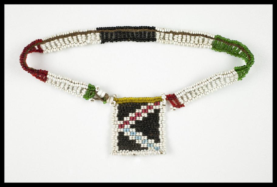 Zulu, love letter necklace