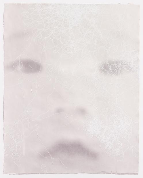 Lin Tianmiao, Focus print 06-606A