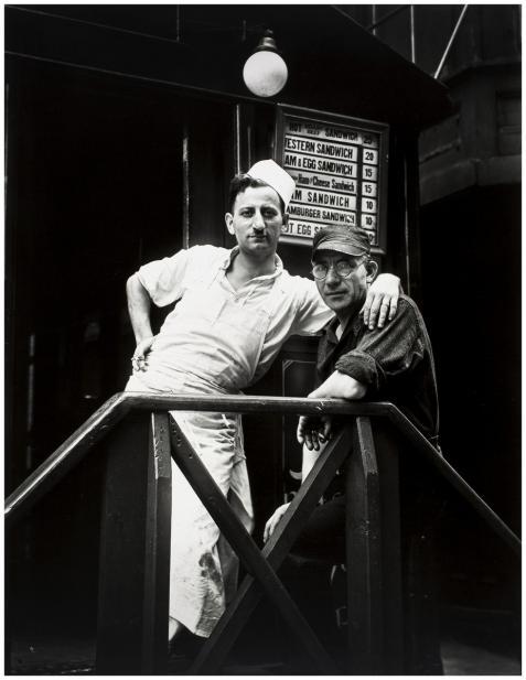 Evans, Walker, Lunchroom Buddies, New York City