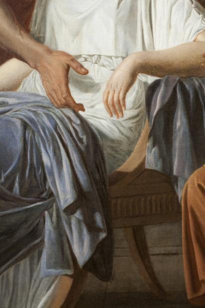 Etienne Aubry, Les Adieux de Coriolan à sa Femme au moment qu'il part pour se rendre chez les Volsques