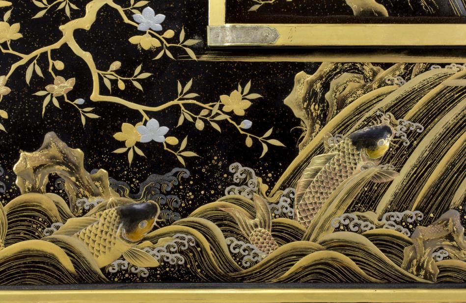 Japanese, Samurai sword dressing box