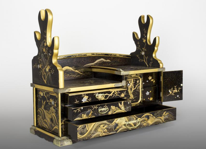Japanese, Samurai sword dressing box