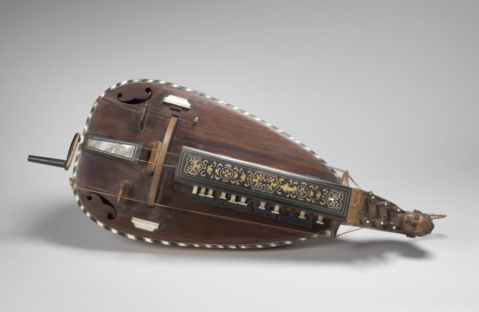 Lambert, J. N., hurdy gurdy