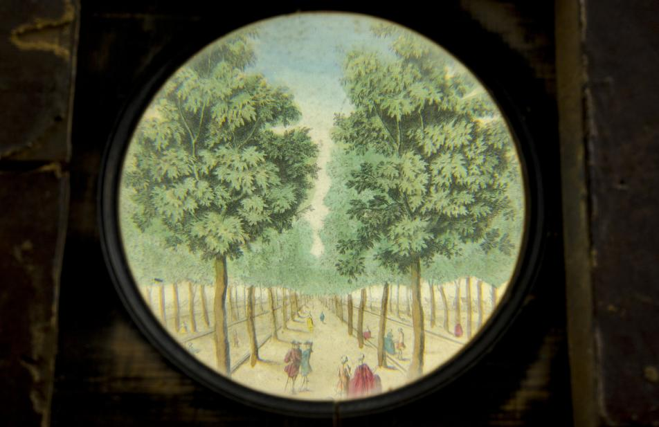 Egerton & Wm. Smith & Co., Zograscope; Perspective mirror