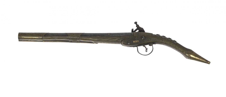 Albanian, Rat tail miquelet lock pistol
