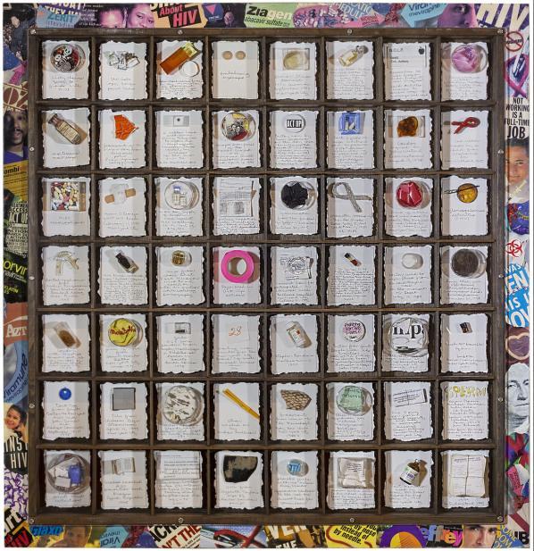 Barton Lidice Benes (American, 1942-2012), AIDS (Reliquarium), 1999