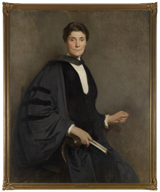 John White Alexander (American, 1856-1915), President Mary Emma Woolley, ca. 1909