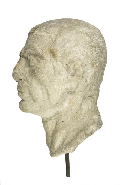 Maker Unknown (Roman), Head of a Man, 1st century BCE