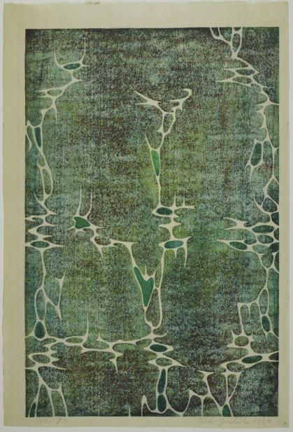 Yoshida Toshi (Japanese, 1911-1995), Untitled, No. 9, 1952