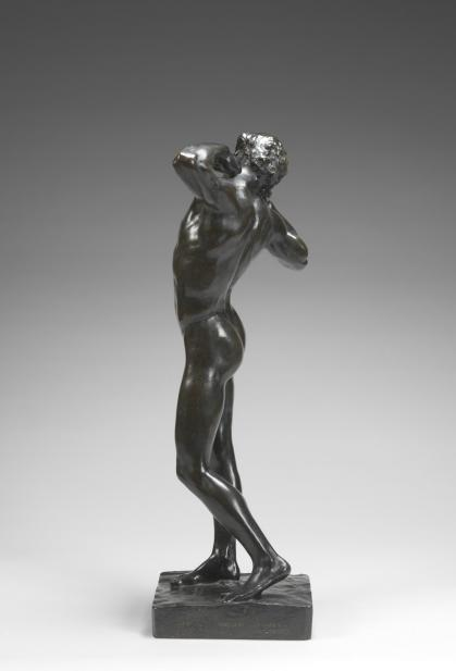 Frederic Leighton, 1st Baron Leighton of Stretton (British, 1830-1896), The Sluggard, 1882 modeled; 1890 cast