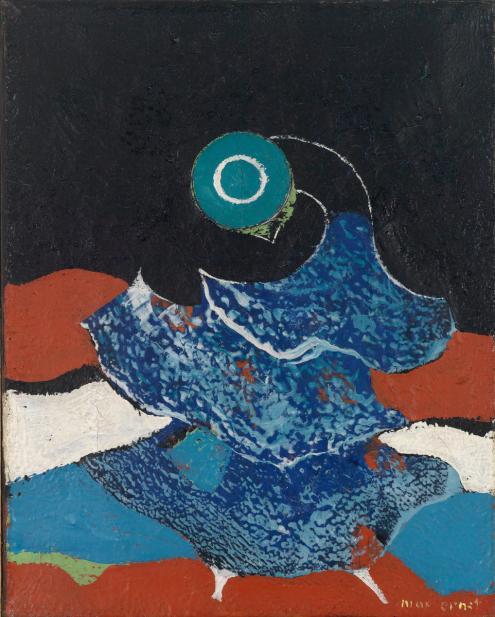Max Ernst (German, 1891-1976), Bird, ca. 1928