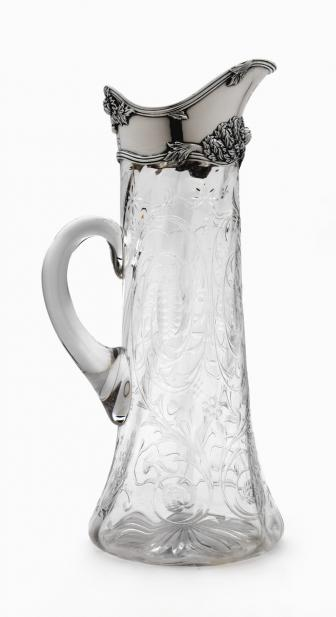 Tiffany & Co. (American), Lemonade pitcher, ca. 1890-1900