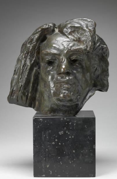 Auguste Rodin (French, 1840-1917), Tête de Balzac [Head of Balzac], 1897 model; 1955 cast