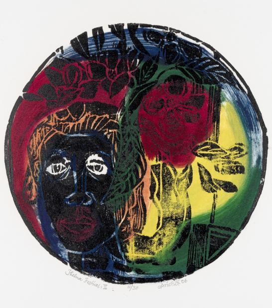 David Driskell (American, b. 1931), Thelma Festival II, 2006