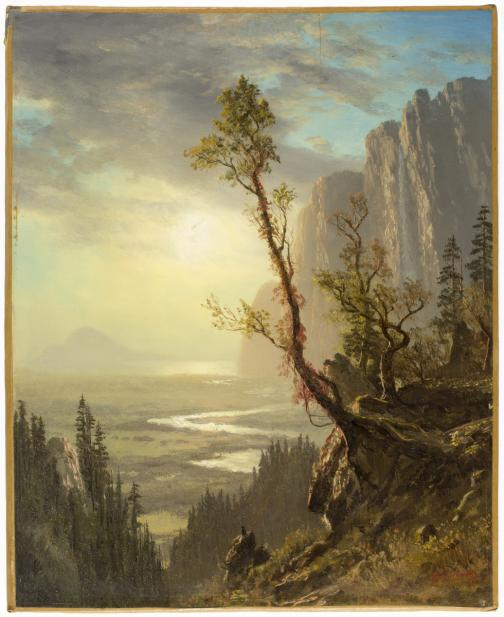Unknown (American), Mountain Landscape, 19th century