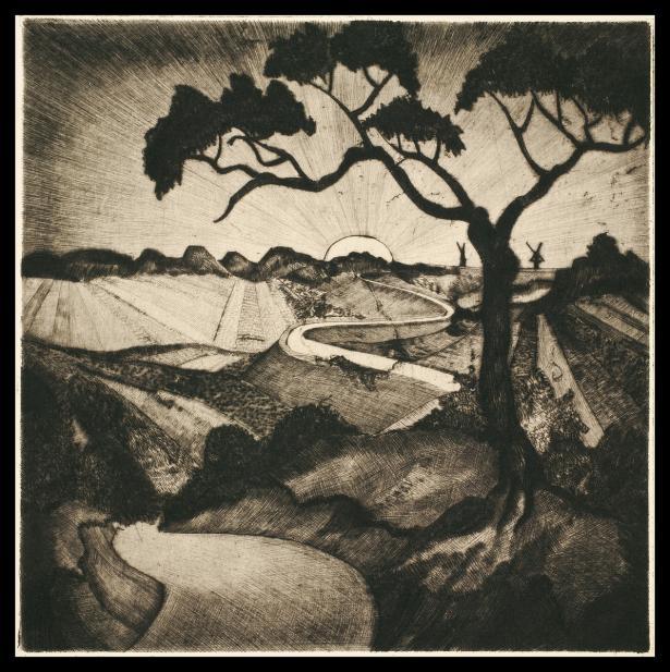 Lodewijk Schelfhout (Dutch, 1881-1943), Le Soleil, 1918