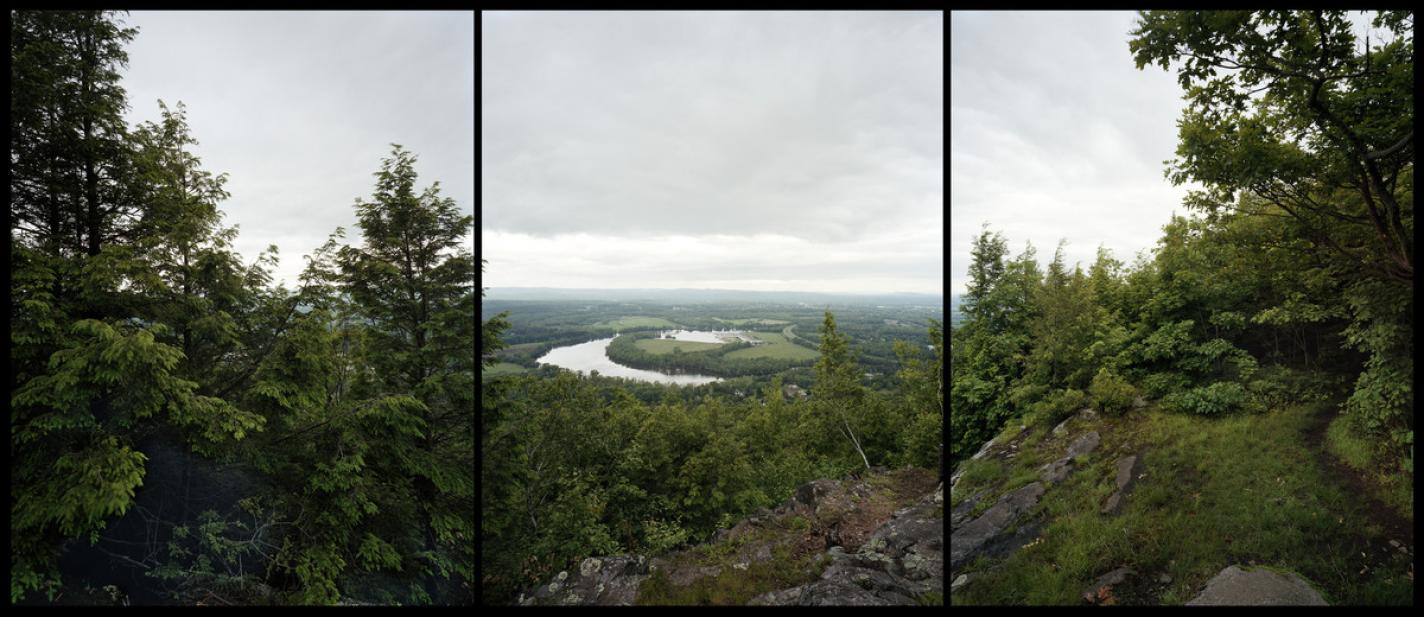 Barbara Bosworth, View of the Oxbow from Dry Knob, 2012