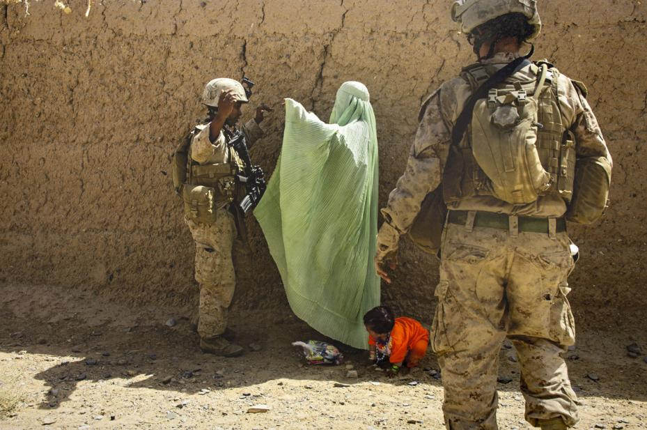 Lynsey Addario (American, b. 1973), September 15, 2010... (#13 from the series Women at War), 2010 capture, 2015 print