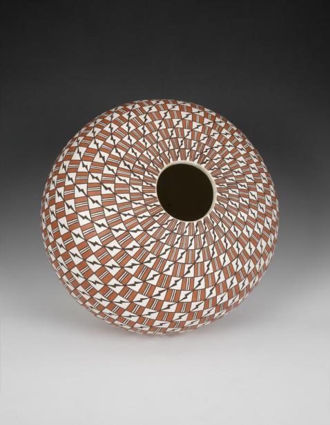 Grace Chino (Acoma Pueblo; American, 1929-1994), Seed pot, last quarter of the 20th century