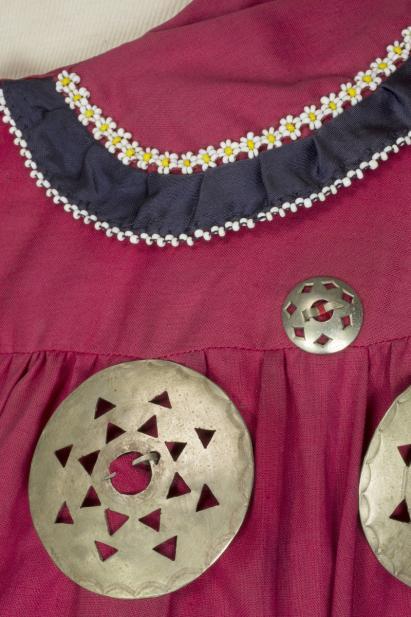 Ron LaFrance (Skaroniate) (Haudenosaunee (Iroquois); Kanien'kehá:ka (Mohawk); American, 1945-1996)), Woman's great shirt (detail), mid-20th century