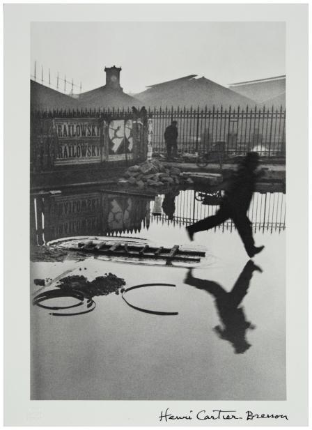 Henri Cartier-Bresson (French, 1908-2004), Behind Le Gare St. Lazare, negative 1932; print ca. 1980s-1990s