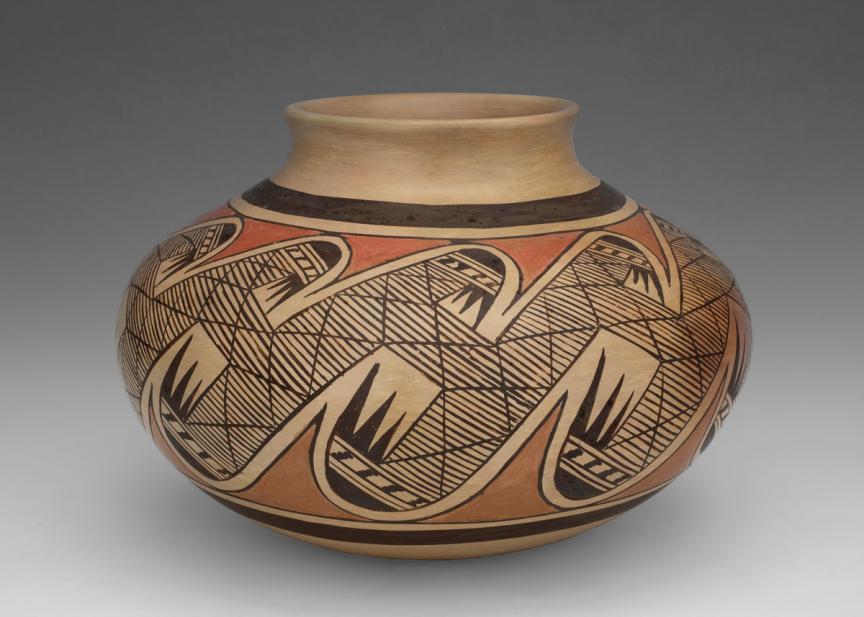 Fannie Nampeyo (Hopi; American, 1900-1987), Jar, 20th century