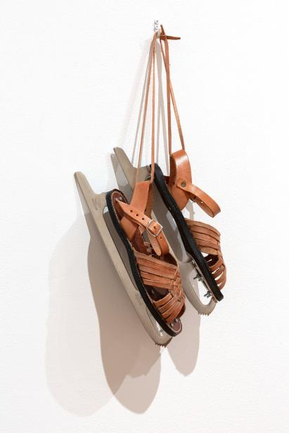 Hector Dionicio Mendoza (Mexican, b. 1969), Immigrant Shoes, 2010