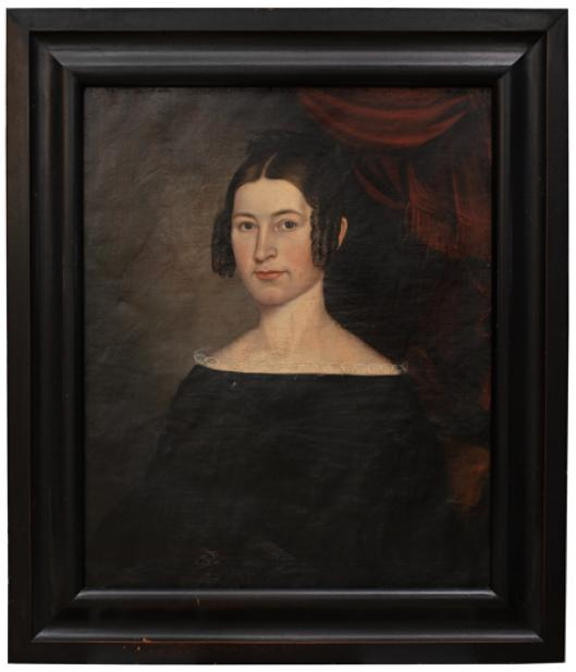 Joseph Whiting Stock (American, 1815-1855), Lucy Gold Stock, ca. 1840