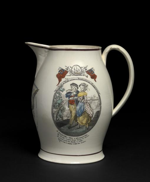 Unknown (British; English), Pitcher, ca. 1810