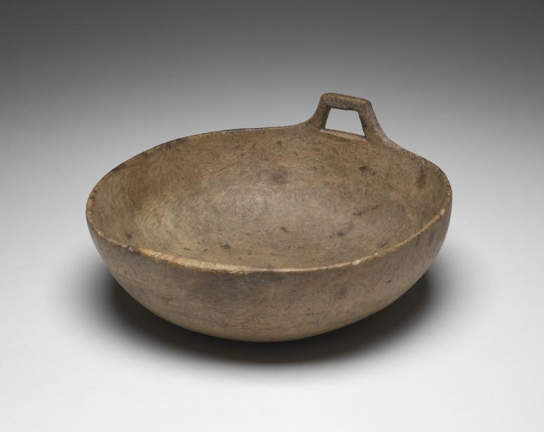 Unknown (Native American; American Indian), burl bowl, 17th or 18th century