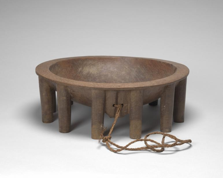 Unknown (Oceanic; Polynesian; Fijian), kava bowl, 19th or early 20th century