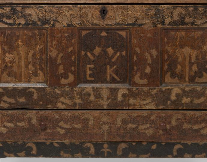 American, Hadley Chest; Dower Chest; Chest With Drawer