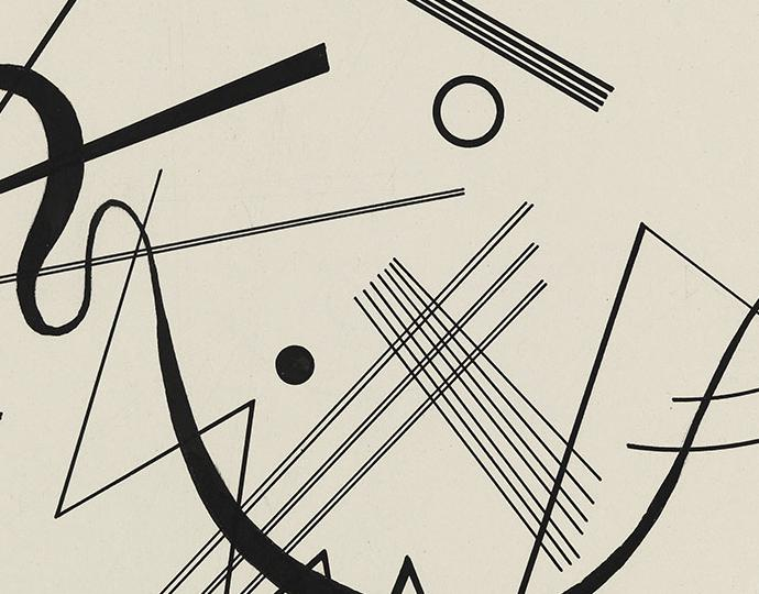 "Kandinsky, Wassily, Untitled (drawing for ""Diagram 17"")"