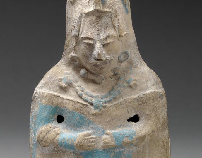 Mayan, Standing female dignitary