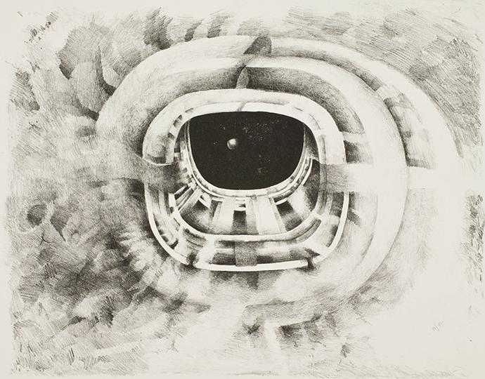 Lee Bontecou, Ninth Stone