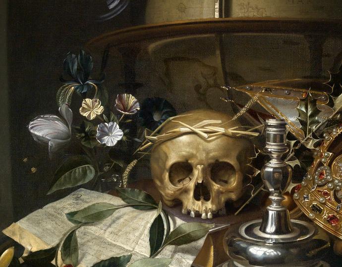 Andriessen, Hendrick, Vanitas still-life