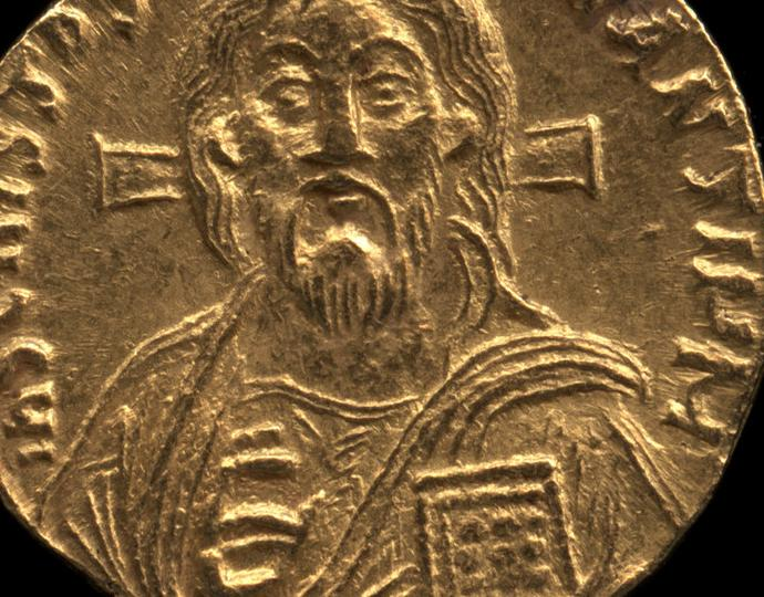 Byzantine, Solidus of Christ, recto