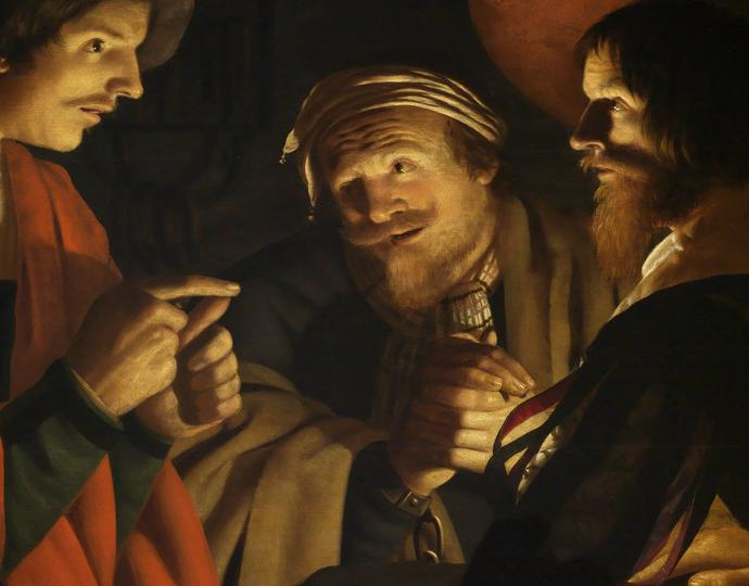 Volmarijn, Crijn Hendricksz., Joseph Interpreting the Dreams of Pharaoh's Butler and Baker