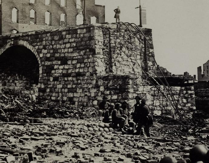 Gardner, Alexander, Incidents of the War, Ruins of Arsenal, Richmond, VA.