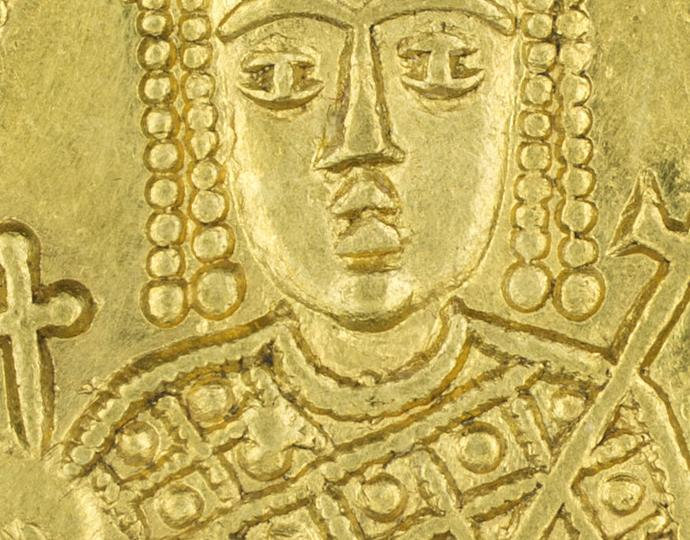 Byzantine, Solidus of Irene, sole reign