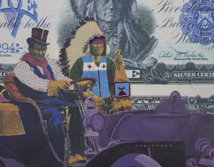 Stan Natchez (Shoshone/Paiute; American; born 1954), Geronimo's Cadillac, 2019