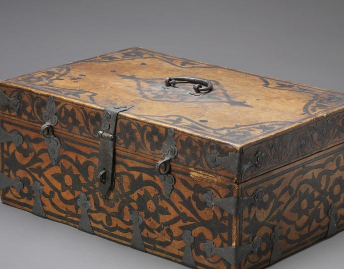 American, Fidelia Fiske's document box