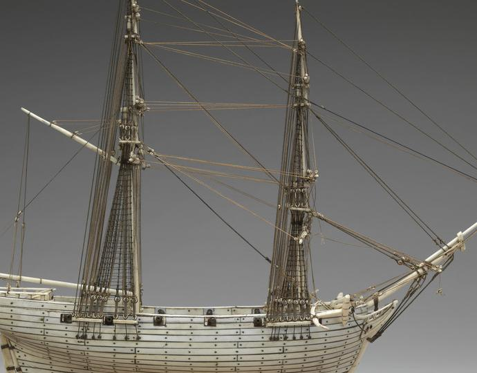 French, Ship model