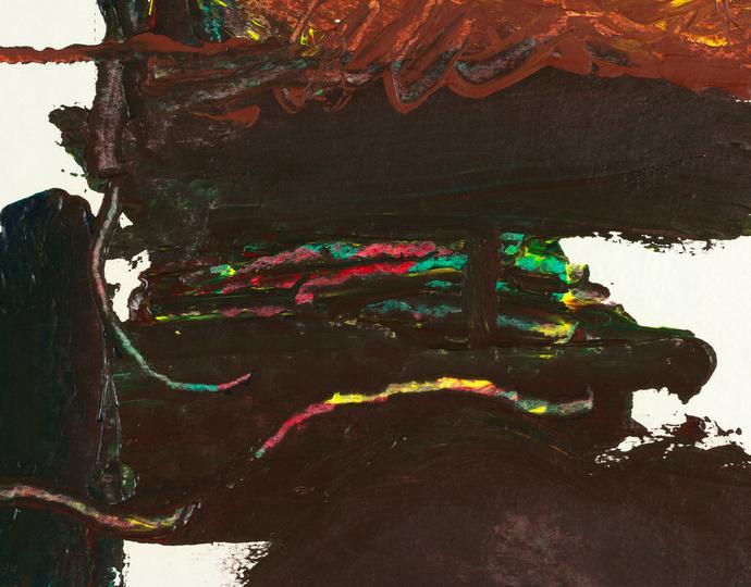 Helen Frankenthaler (American, 1928-2011), Montauk VI, 1985
