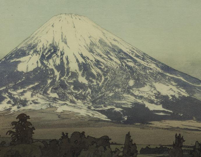 Yoshida Hiroshi (Japanese, 1876-1950), Fuji San: Gotenba (Mount Fuji from Gotenba), 1929
