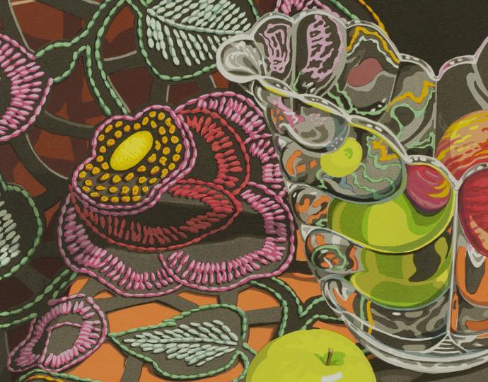 Sondra Freckelton (American, 1936-2019), Openwork, 1986